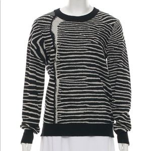 A.L.C. Wool Long Sleeve Top
